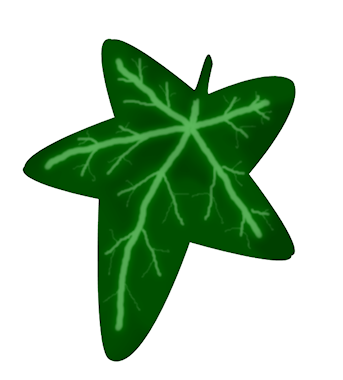 343x380 Clipart Of Ivy