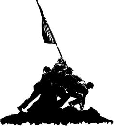 236x260 IWO JIMA Iwo jima flag, Iwo jima and Silhouettes