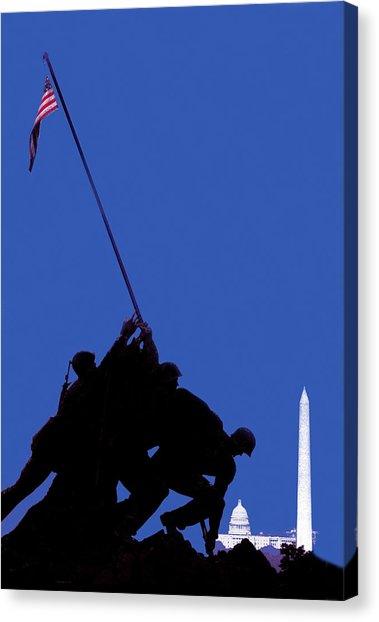 379x622 George Kennedy Canvas Prints