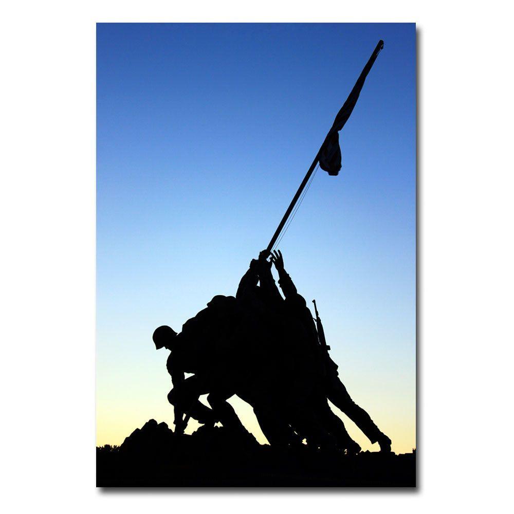 1000x1000 Iwo Jima Memorial By Gregory O'Hanlon Photographic Print
