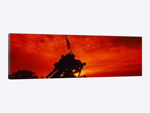 500x375 Silhouette Of Statues