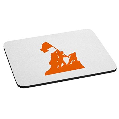 463x463 Iwo Jima Wwii Silhouette Mouse Pad