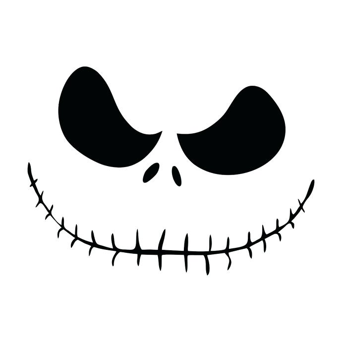 690x690 Jack Skellington Silhouette List Nightmare Before Christmas Jack