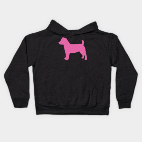 285x285 Jack Russell Terrier Pink Silhouette