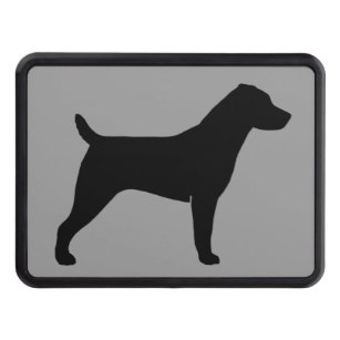 307x307 Jack Russell Terrier Dog Trailer Hitch Covers
