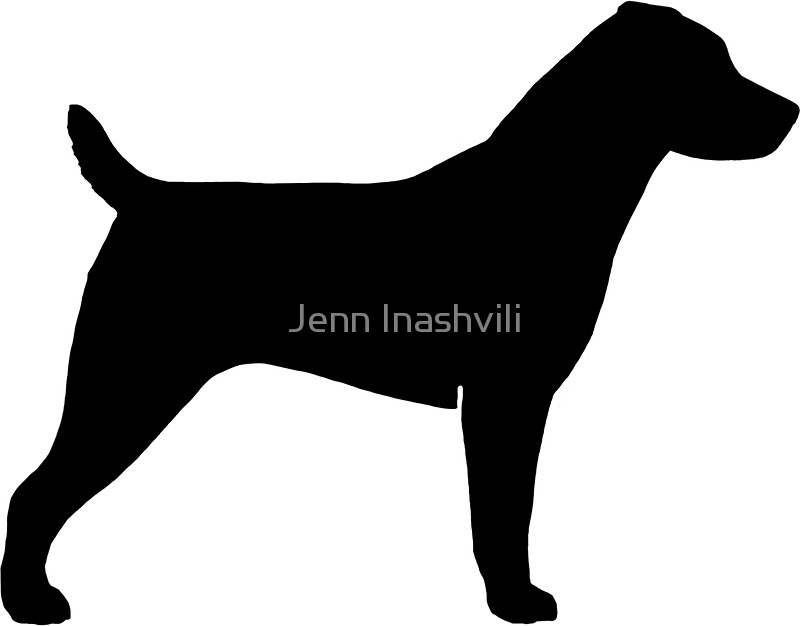 800x626 Jack Russell Terrier Silhouette(S) Stickers By Jenn Inashvili