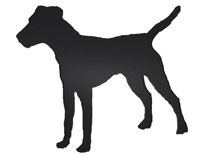 400x305 Jack Russell Terrier Silhouette Embroidery Designs, Machine
