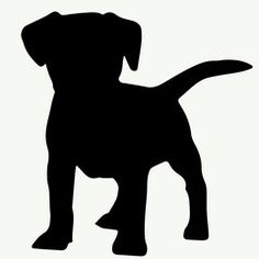 236x236 Dog Jack Russell Silhouette Illustration Dog