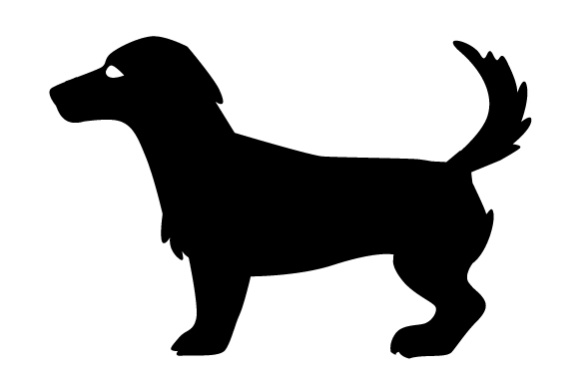 580x385 Jack Russell Terrier Silhouette Svg Cut File By Creative Fabrica