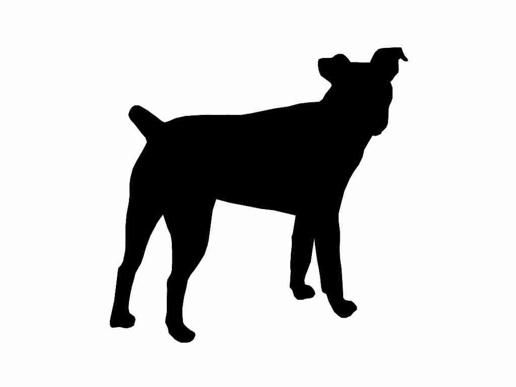 1024x768 Jack Russell Terrier V3 Dog Breed Silhouette Custom Die Cut