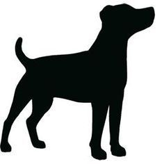 236x236 Jack Russell Terrier Silhouette