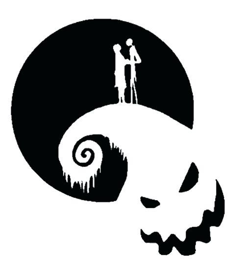 500x534 Jack Skellington Silhouette Nightmare Before B Nightmare Before