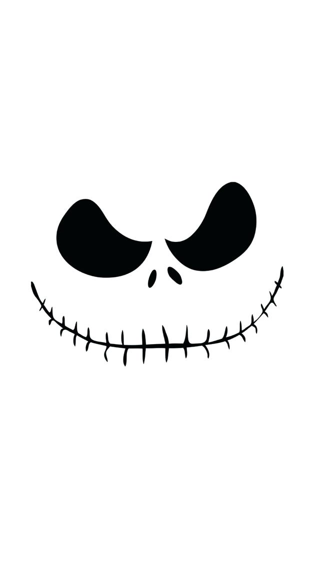 640x1136 Jack Skellington Silhouette Nightmare Before Silhouette Jack