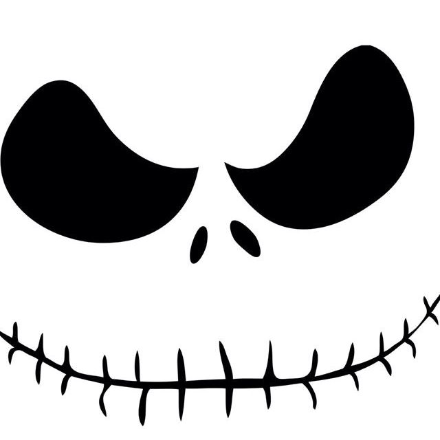 640x640 Jack Skellington . This Could Be Pumpkin Pattern Crafts