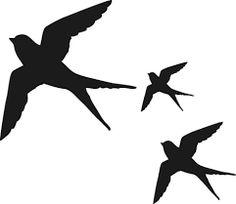 236x204 Flying Bird Silhouette