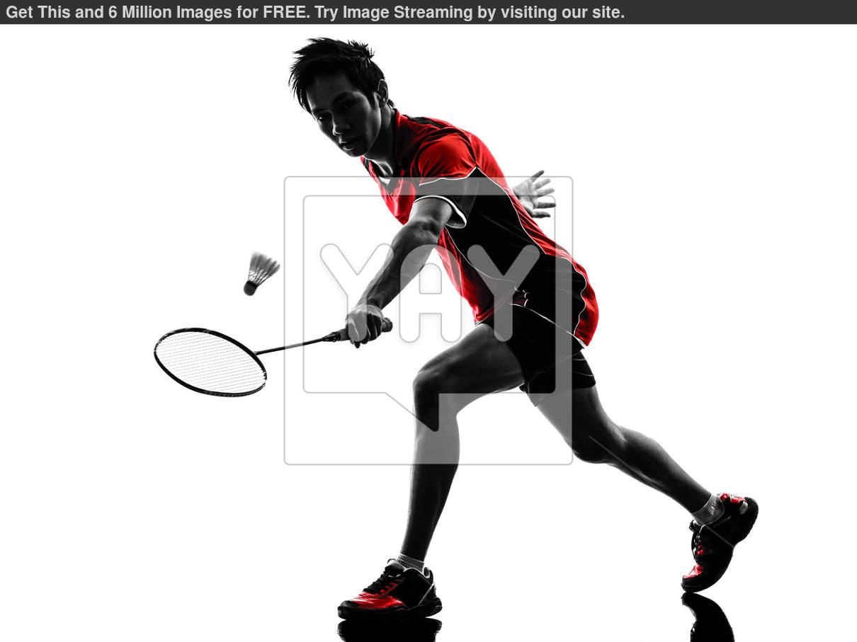 1210x907 Badminton Player Young Man