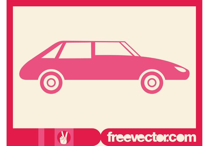 700x490 Pink Car Silhouette