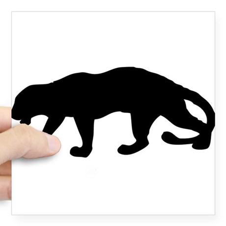 460x460 Baby Jaguar Silhouette
