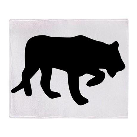 460x460 Black Panther Animal Blankets