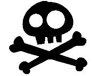 202x156 Jake And The Neverland Pirates Skull By Swirlycolorpixels On Etsy