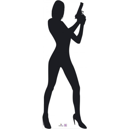 James Bond Silhouette Vector
