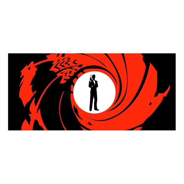 745x745 James Bond 007 0 Free Vector 4vector