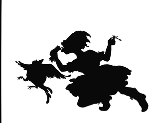 327x247 The Silhouette As Reagent In Kara Walker's Gone (1994) And Other