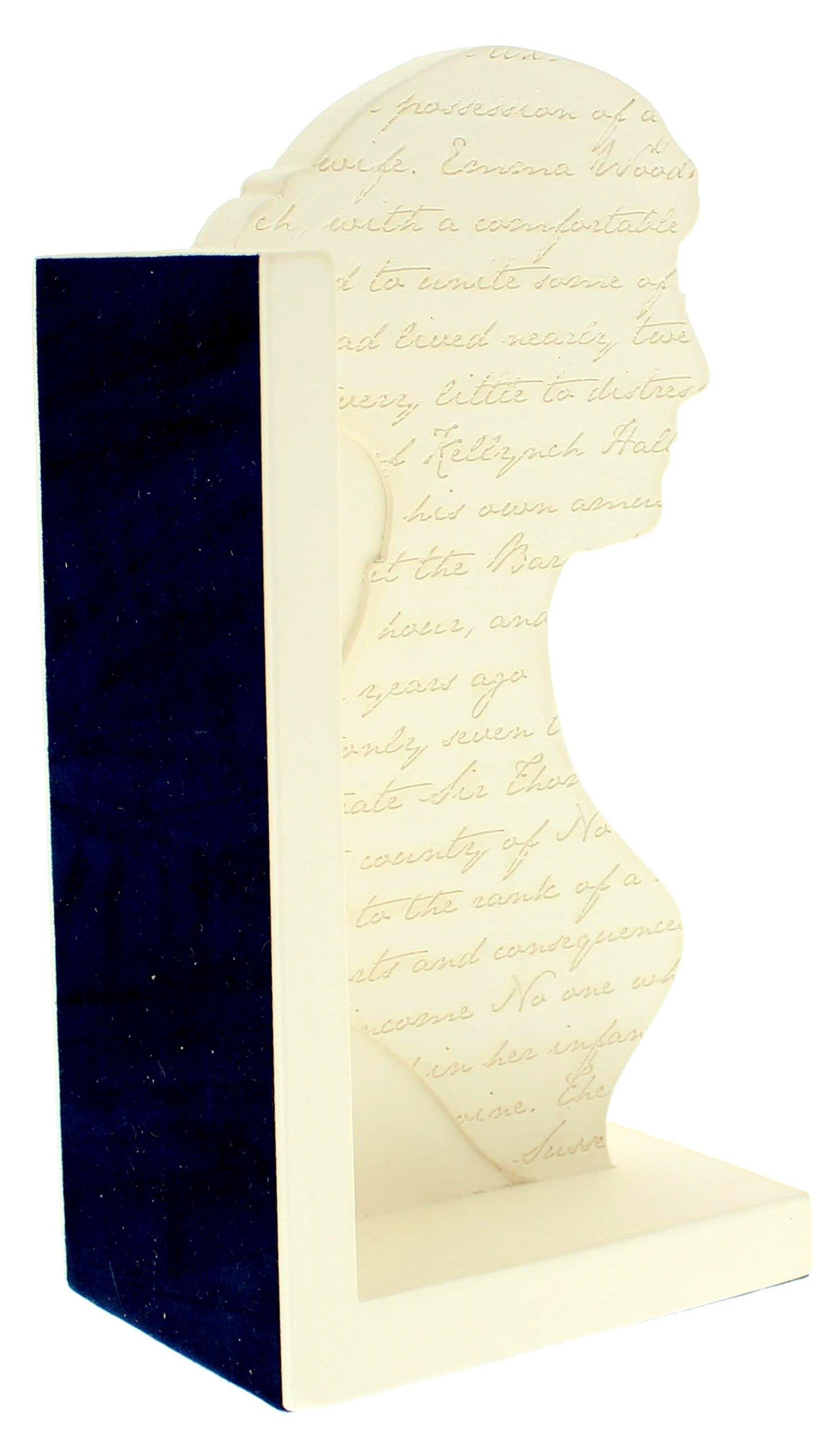 1469x2523 Jane Austen Silhouette Bookend National Portrait Gallery