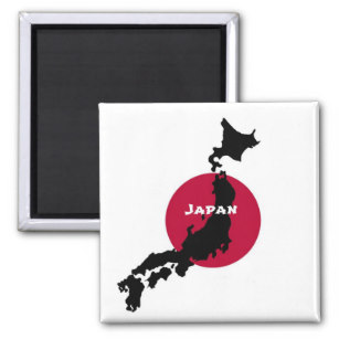 307x307 Silhouette Map Of Japan Gifts On Zazzle