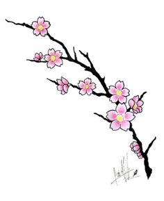 236x289 Japanese Cherry Blossom Stencils, Stensils And Stencles Vector