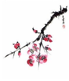 236x279 Japanese Cherry Blossom Drawing