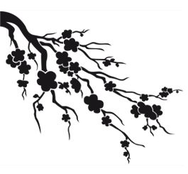 265x245 26 Best Stencils Images On Japanese Cherry Blossoms