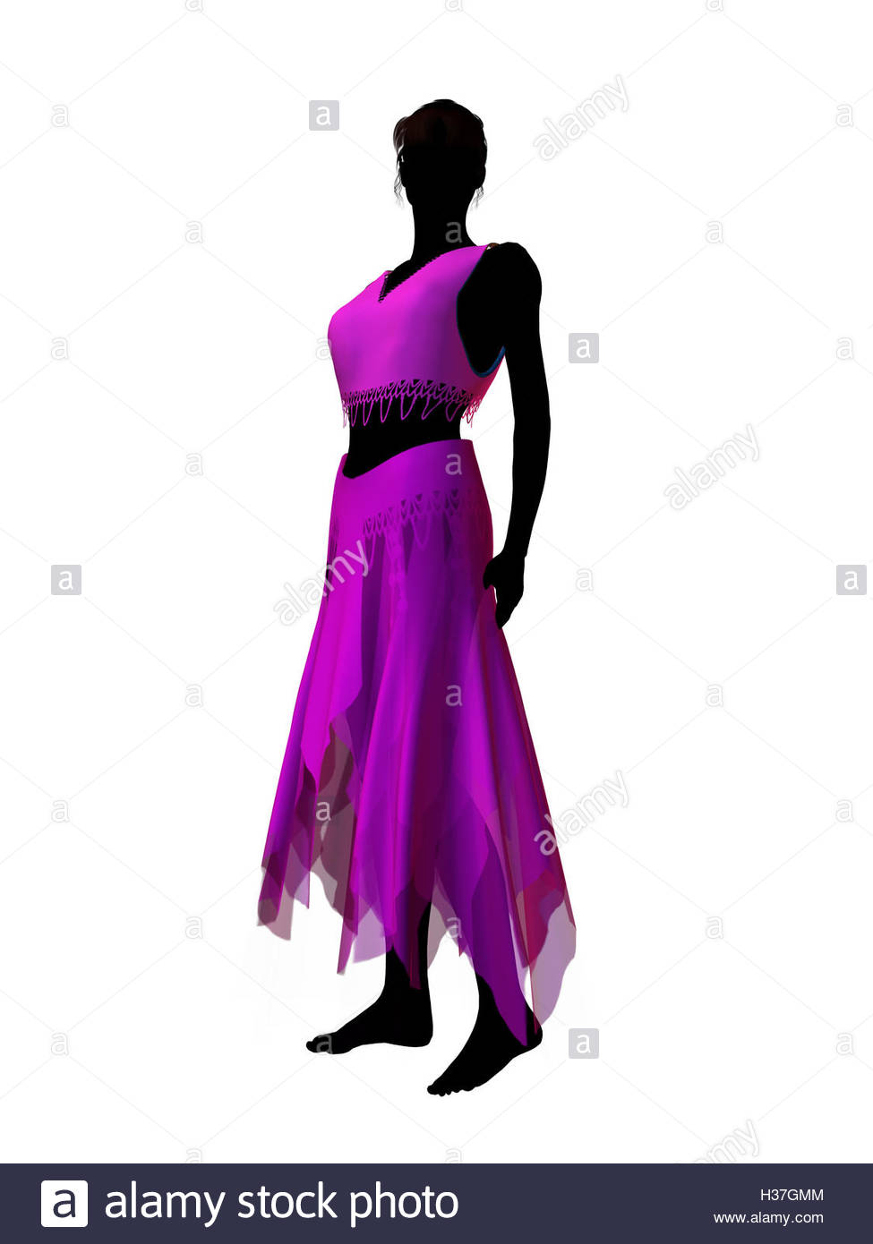 975x1390 Jasmine Silhouette Illustration Stock Photo 122483332