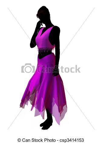 337x470 Jasmine Silhouette Illustration. Aladdin Fairytale Drawings
