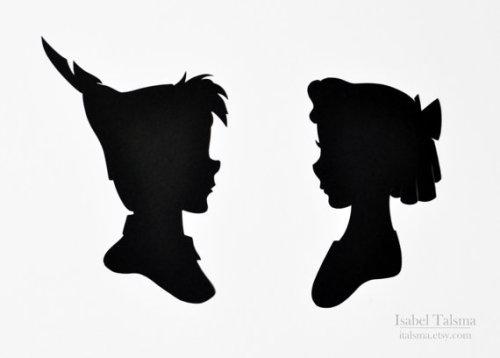 500x358 Princess Jasmine And Aladdin Silhouette