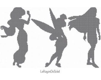 340x270 Fairy Vinyl Decals, Stickers, Adhesive Vinyl, Silhouettes, Fairies