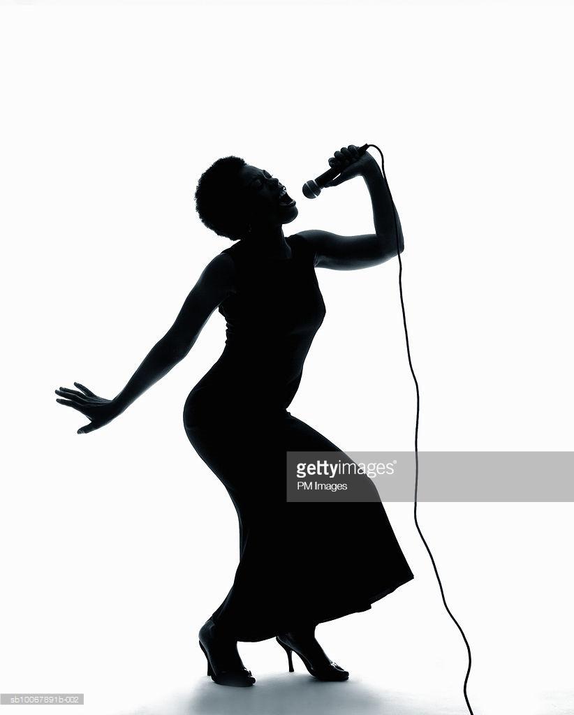 822x1024 Female Jazz Singer Trio Stock Vector Retroartist 16891819 Also