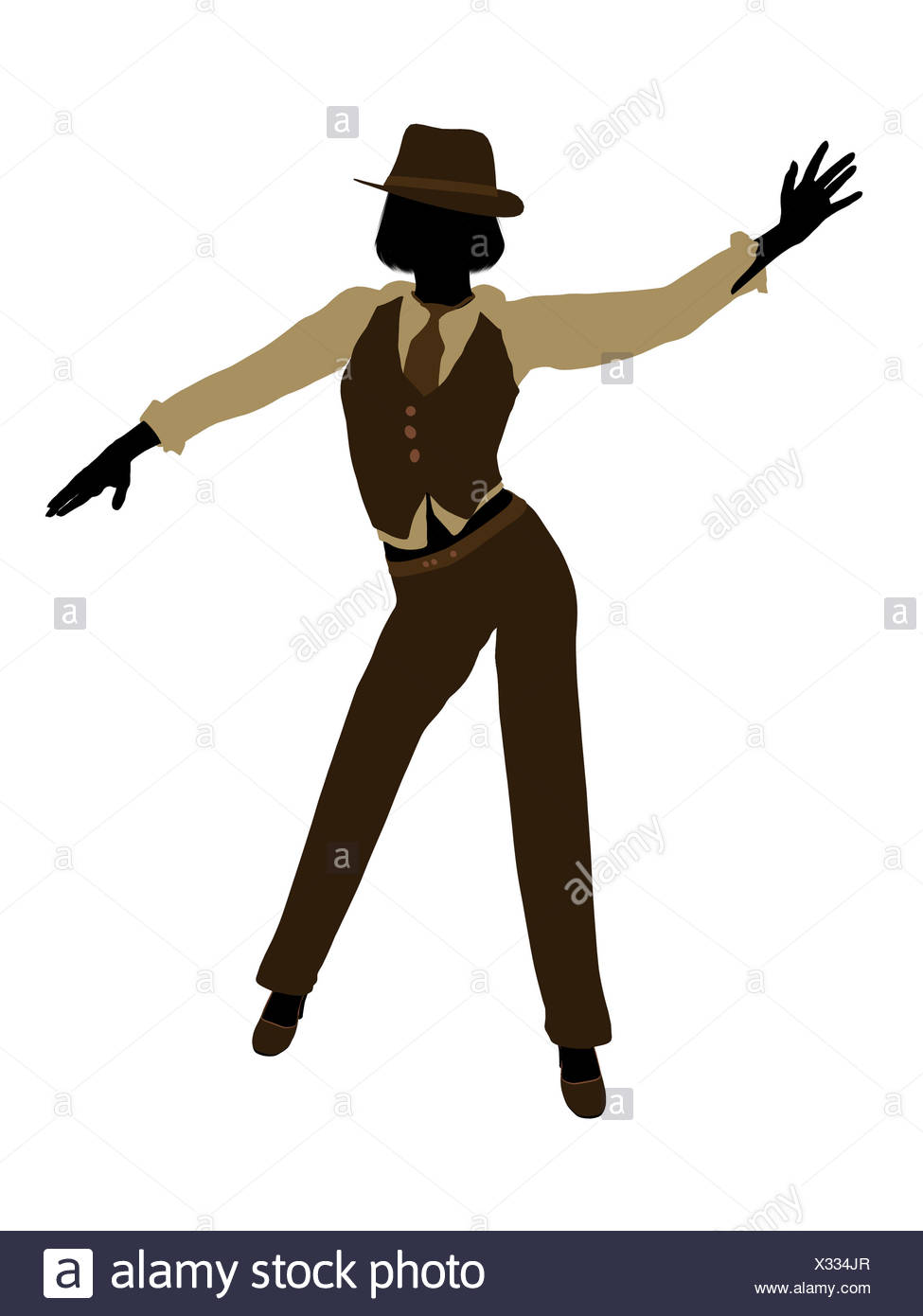 975x1390 Female Jazz Dancer Silhouette Stock Photos Amp Female Jazz Dancer
