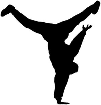 333x345 Dancer Clipart Silhouette S Dancer Clipart
