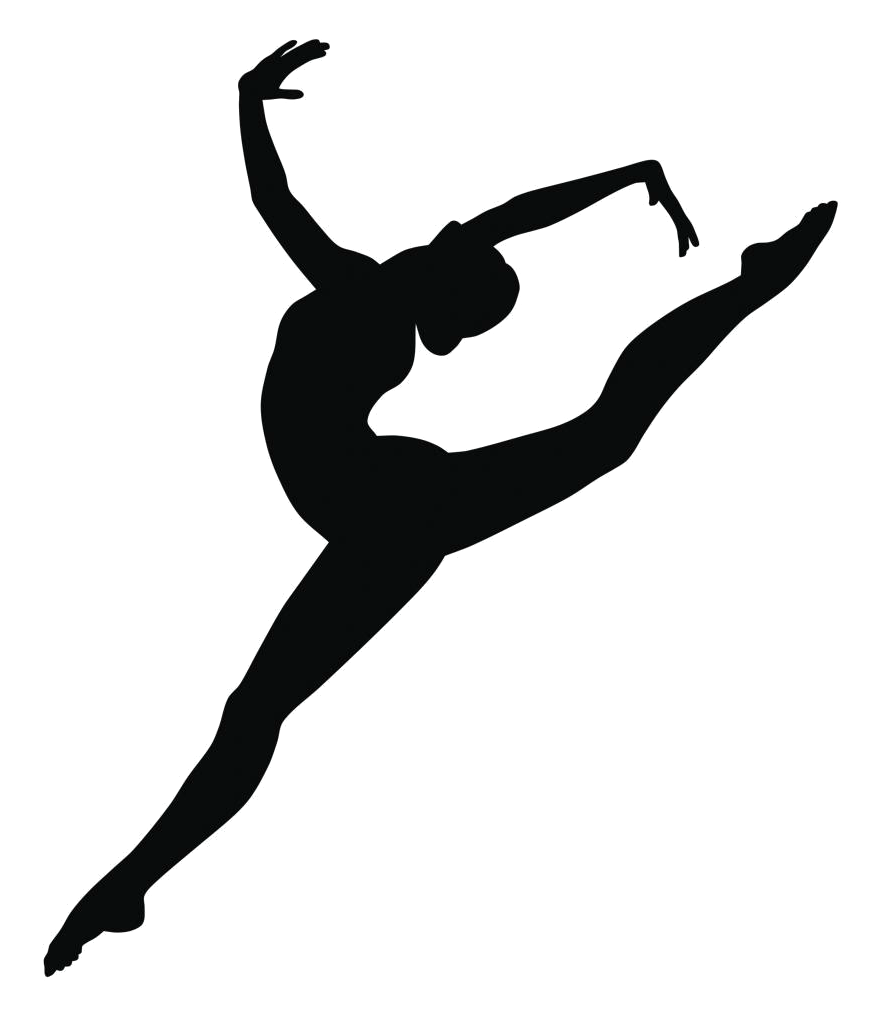 Jazz Dancer Silhouette at GetDrawings.com | Free for ...