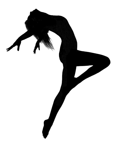 500x600 Ballet Dancer Silhouette Jazz Dance Clip Art