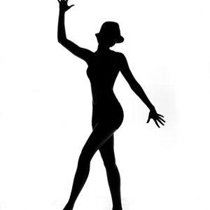 Jazz Dancers Silhouette