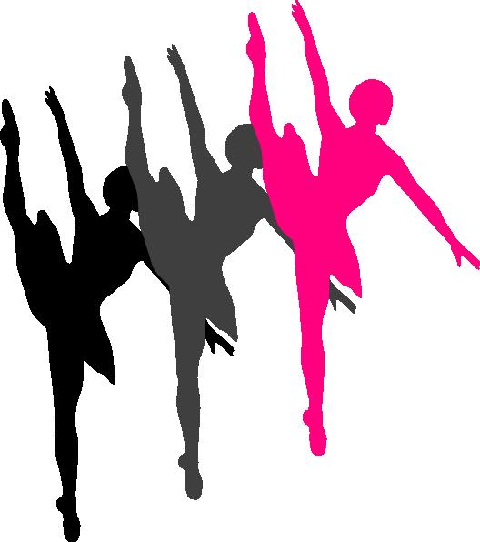 528x596 Jazz Dancer Silhouette Clipart