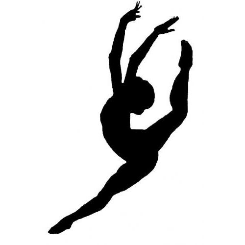 Jazz dancers silhouette at free for personal use jazz dancers silhouette of - Dessin de danseuse moderne jazz ...
