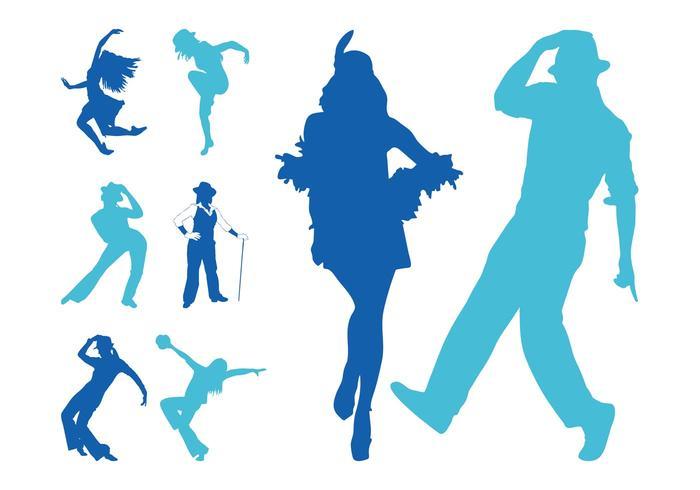 700x490 Jazz Dancers Silhouettes