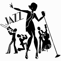 jazz silhouette clip art at getdrawings com free for personal use rh getdrawings com jazz clip art images clipart jazz instruments