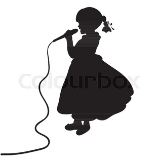 320x320 Silhouettes African Jazz Singer Descripiption Silhouettes