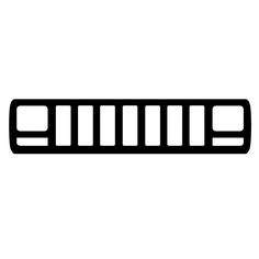 236x236 Jeep Xj Cherokee Classic Sport Grille Logo Decal By Robnmon Kyle