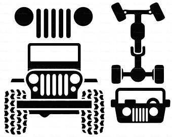 340x270 Jeep Cut File Etsy