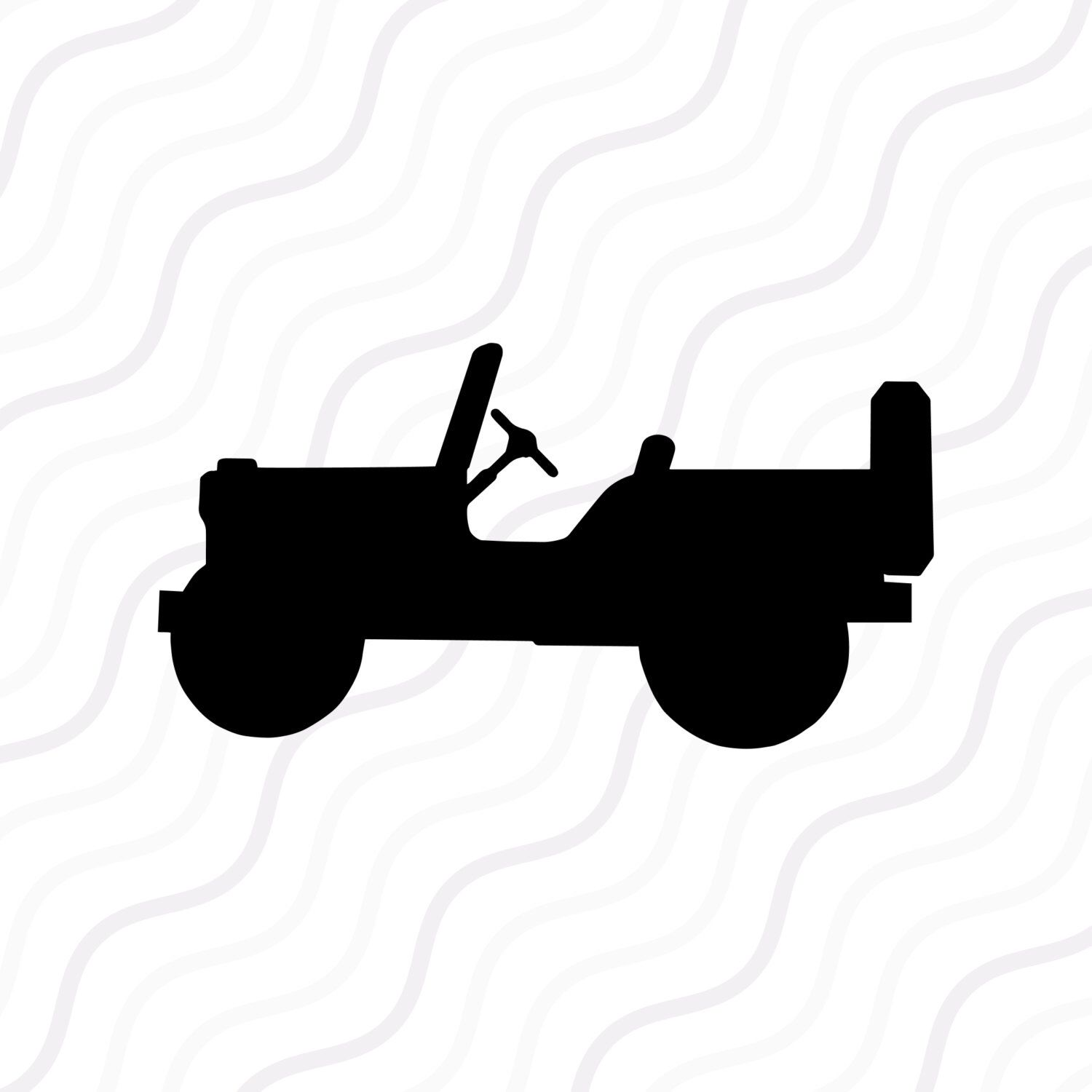1500x1500 Jeep Svg, Jeep Silhouette Svg Cut Table Design,svg,dxf,png Use